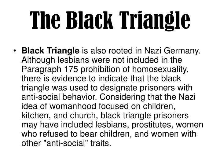 The Black Triangle