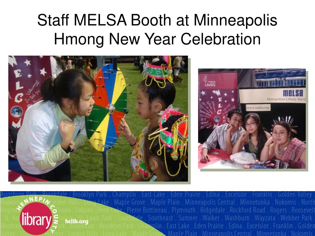 Staff MELSA Booth at Minneapolis