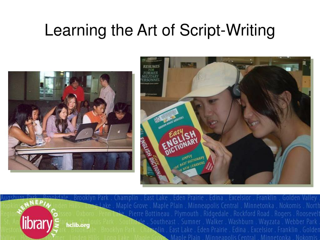 Learning the Art of Script-Writing