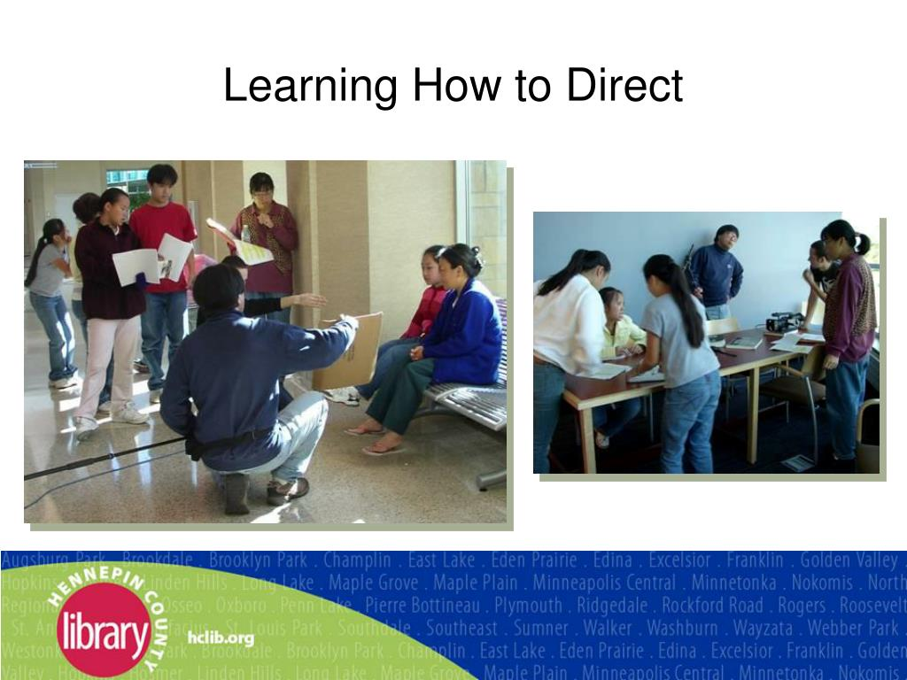 Learning How to Direct