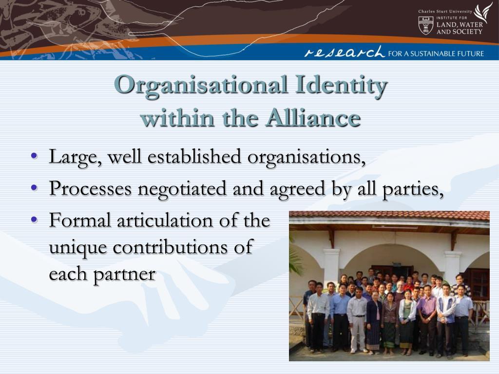 Organisational Identity