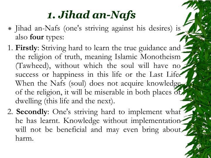 1. Jihad an-Nafs