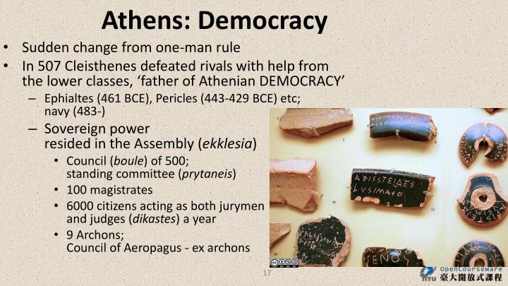 Athens: Democracy