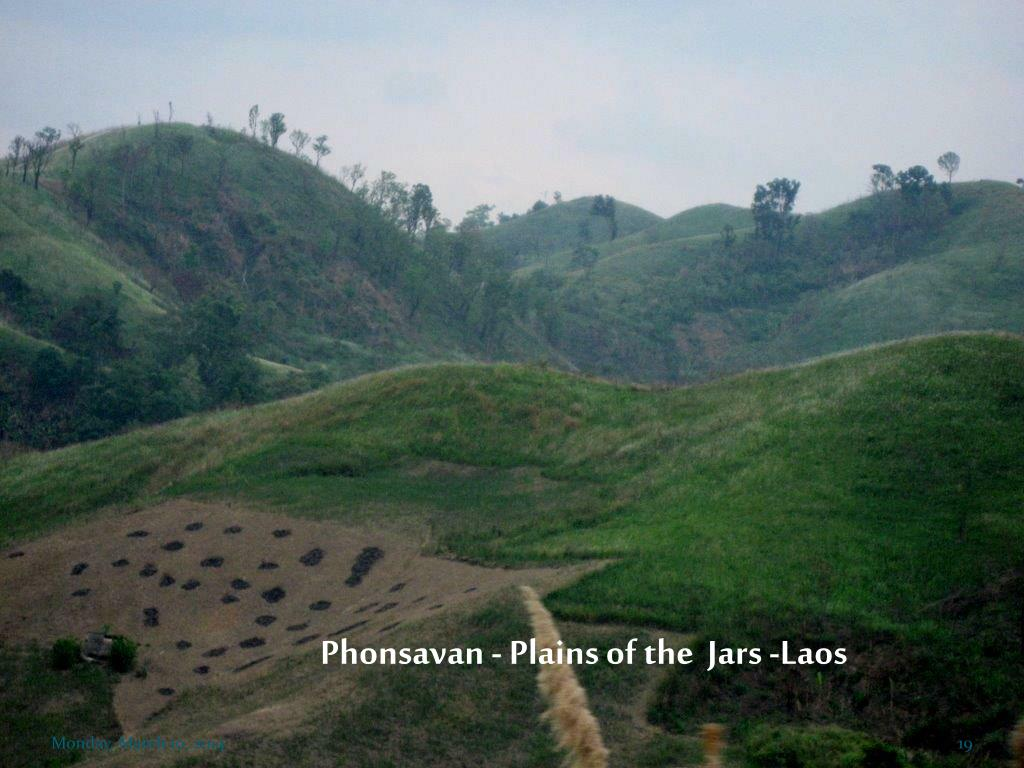 Phonsavan - Plains of the  Jars -Laos