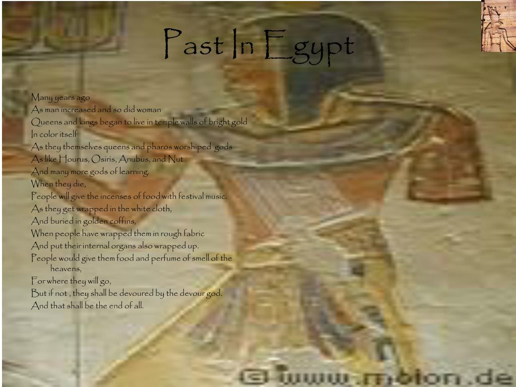 Past In Egypt