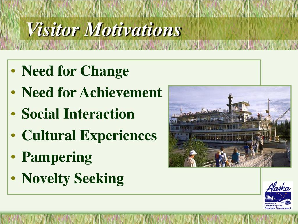 Visitor Motivations