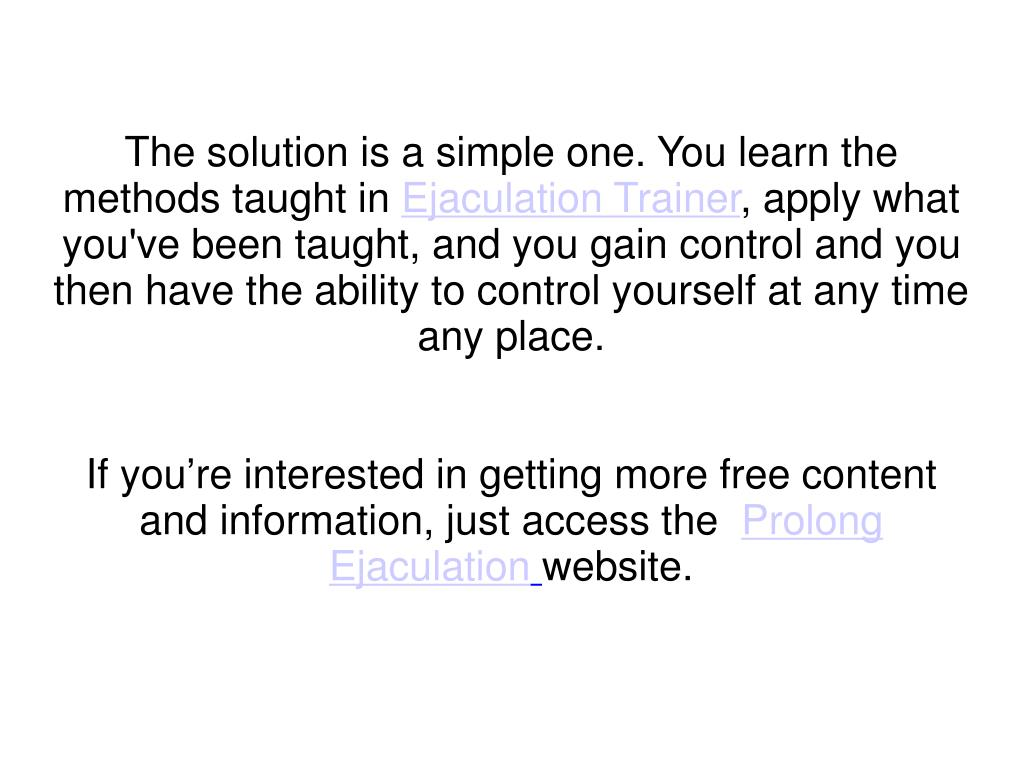 The solution is a simple one. You learn the methods taught in