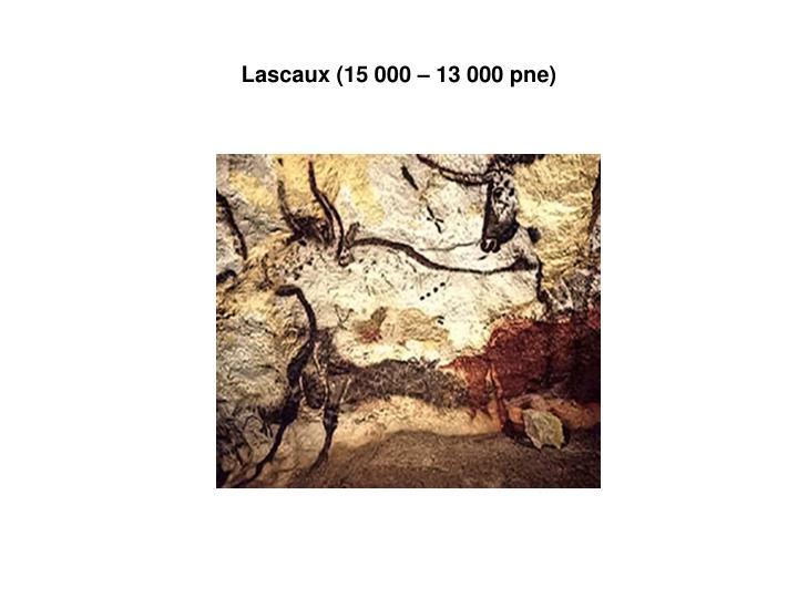 Lascaux (15 000 – 13 000 pne)