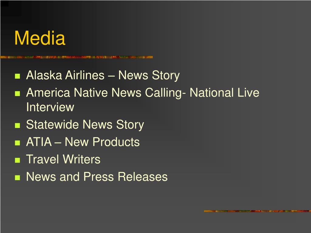 Alaska Airlines – News Story