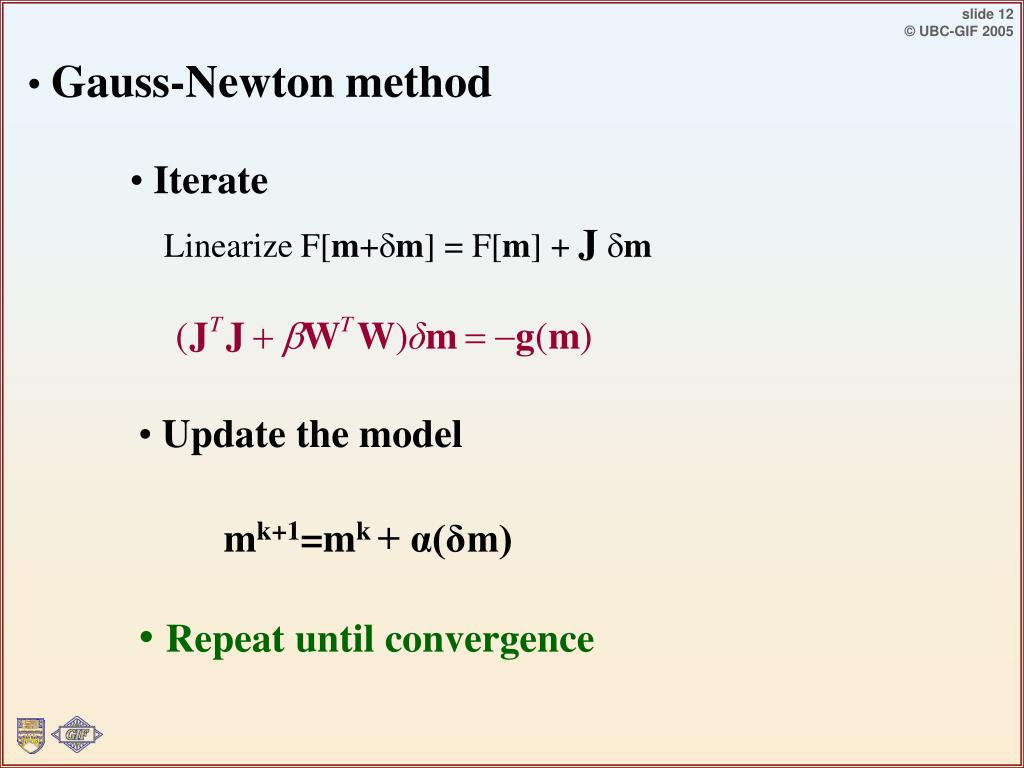 Gauss-Newton method
