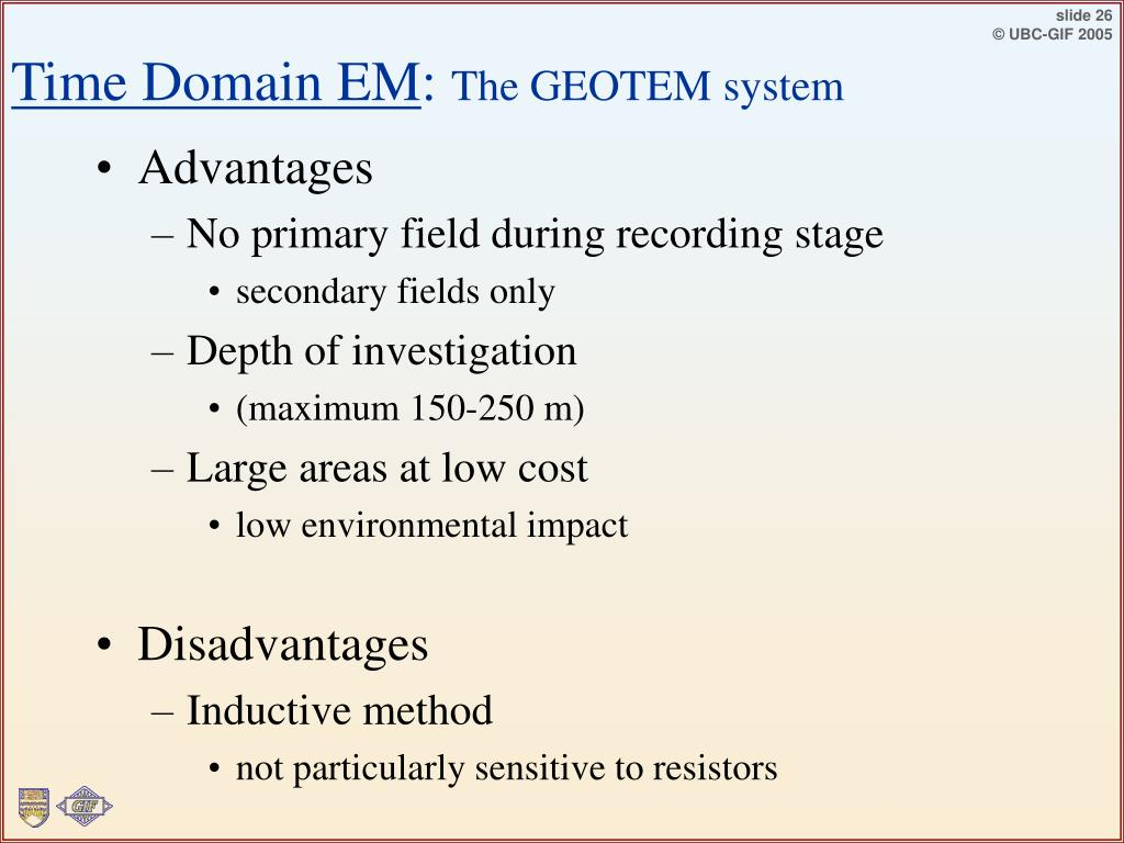 Time Domain EM