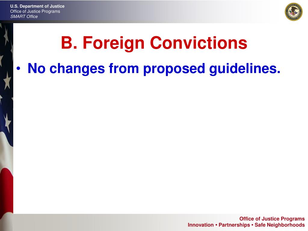 B. Foreign Convictions