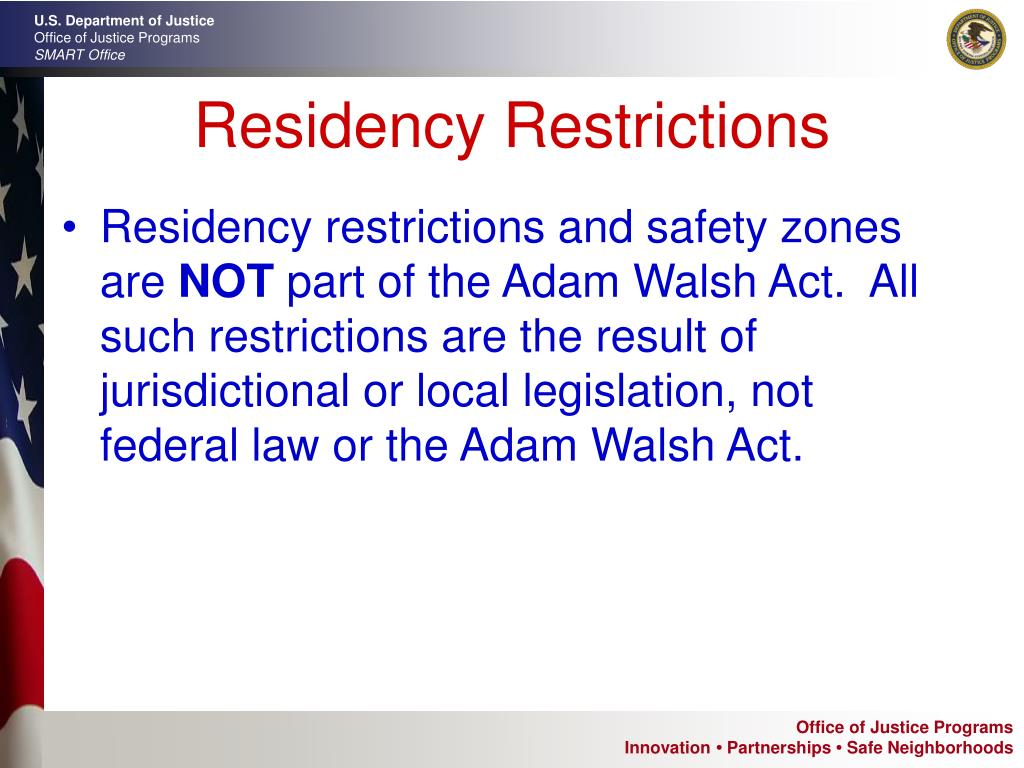 Residency Restrictions