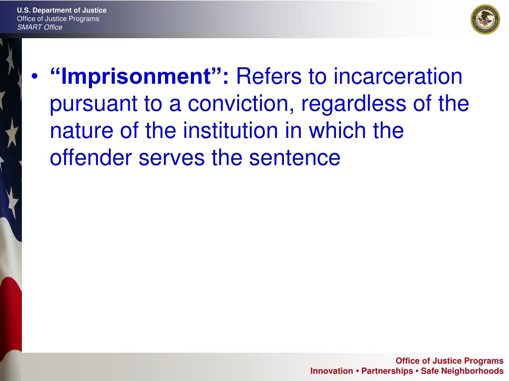 """Imprisonment"":"