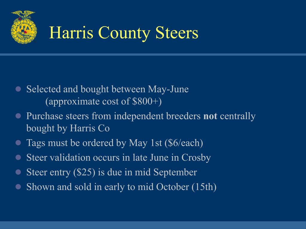 Harris County Steers
