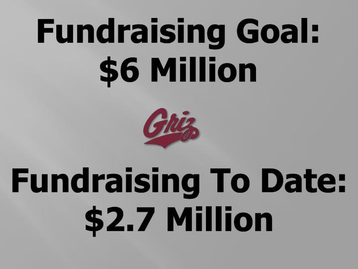 Fundraising Goal: