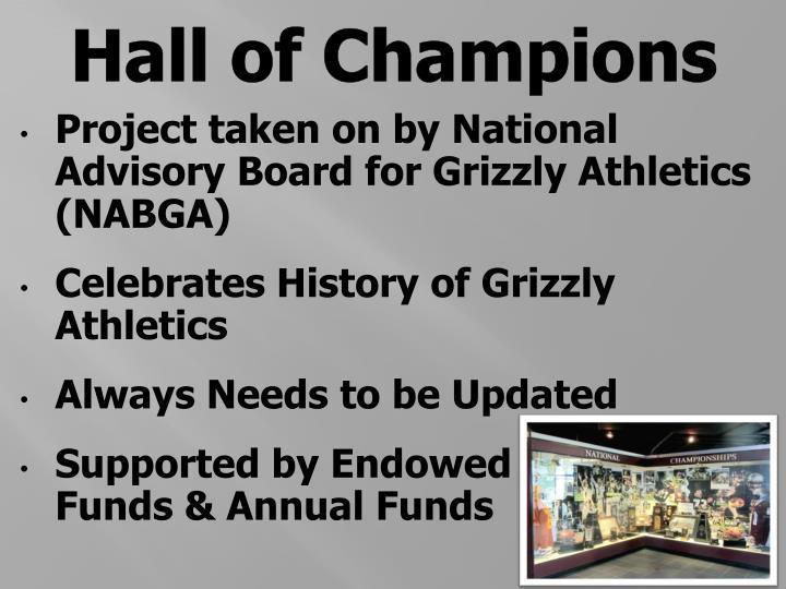 Hall of Champions