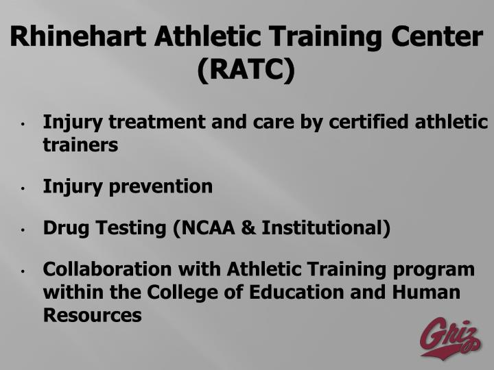 Rhinehart Athletic Training Center