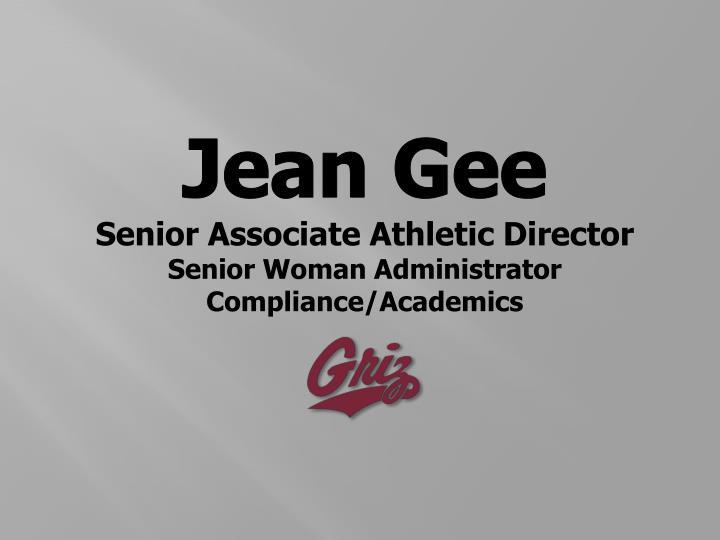 Jean Gee