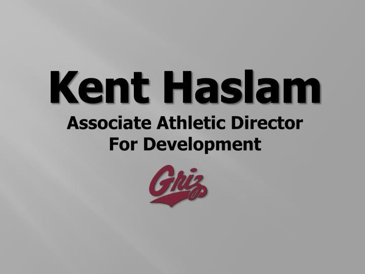 Kent Haslam