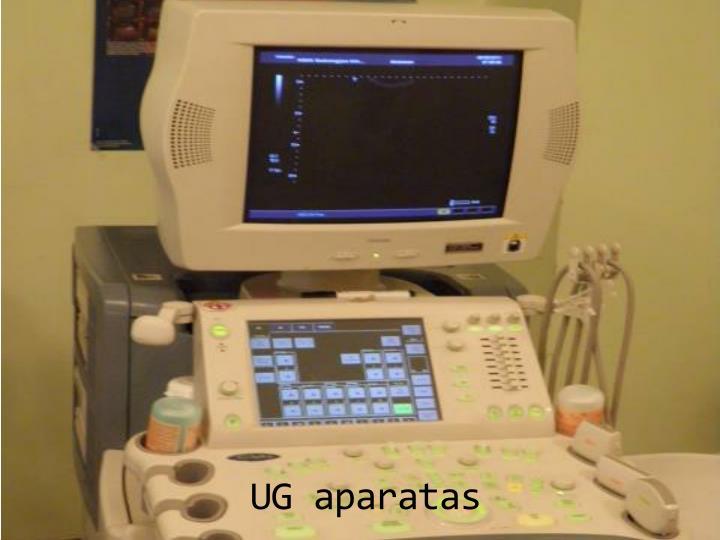 UG aparatas