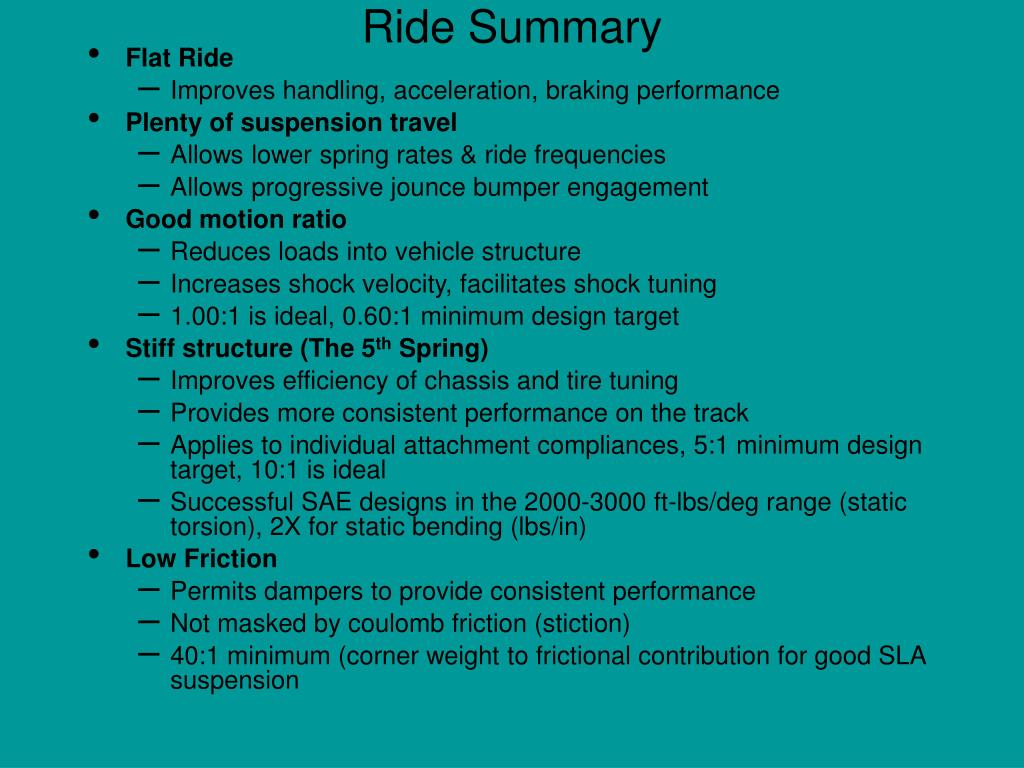 Ride Summary