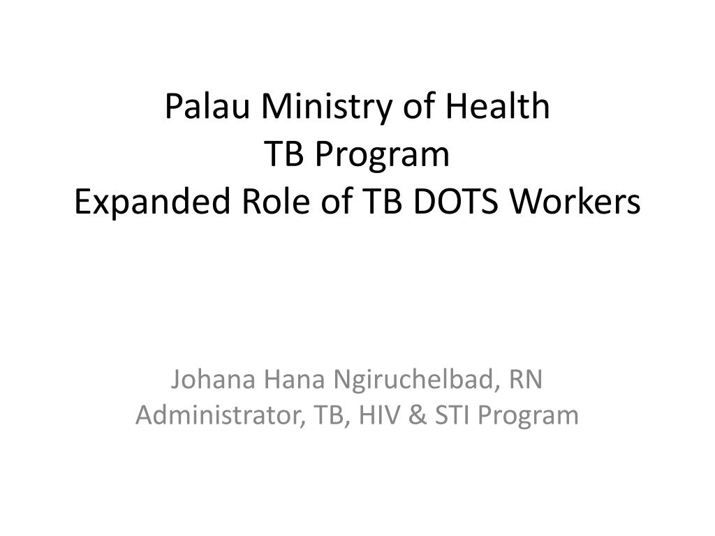 Palau Ministry of Health
