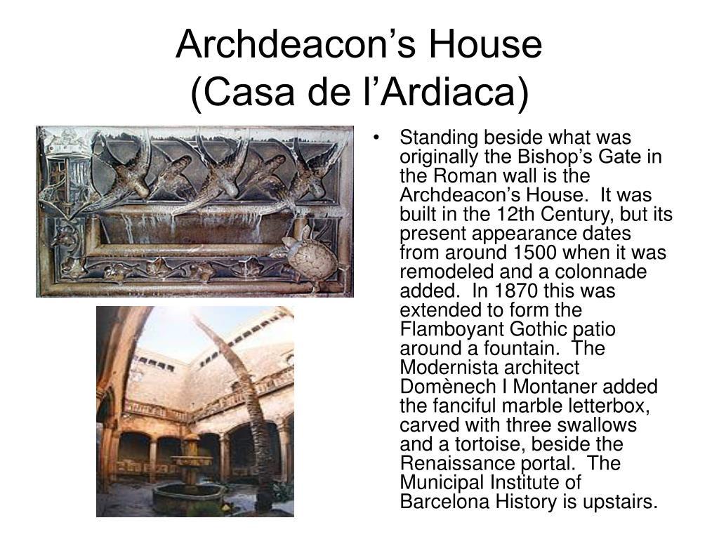 Archdeacon's House