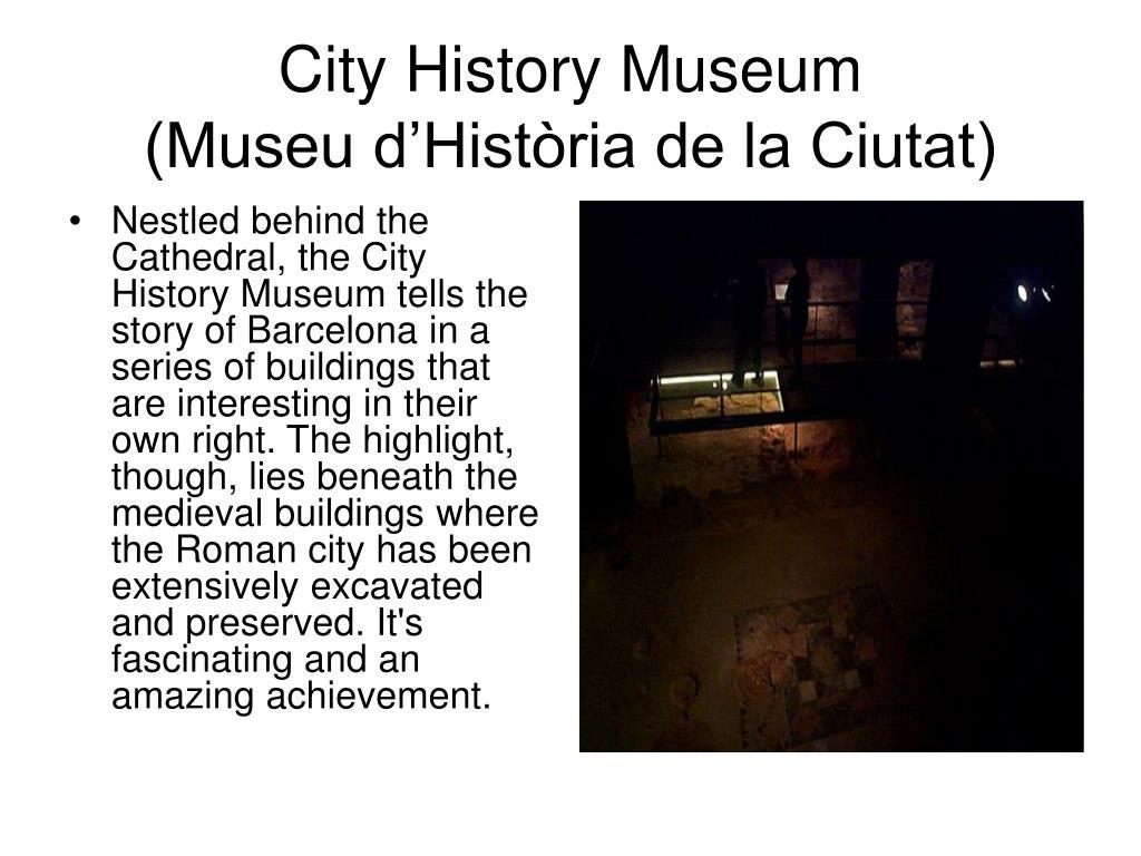 City History Museum