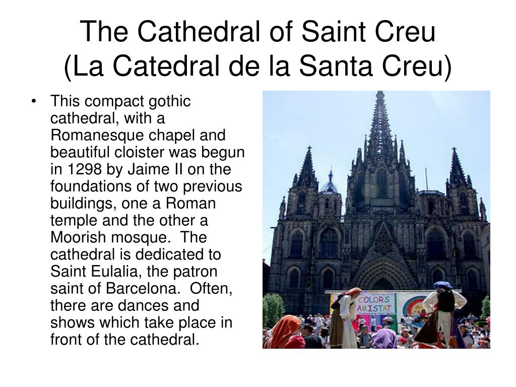 The Cathedral of Saint Creu