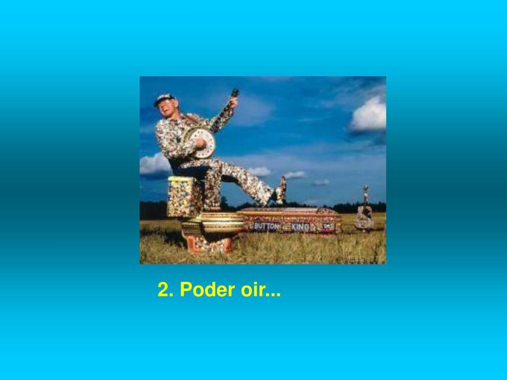 2. Poder