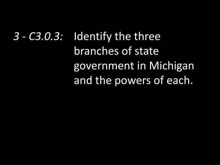 3 - C3.0.3: