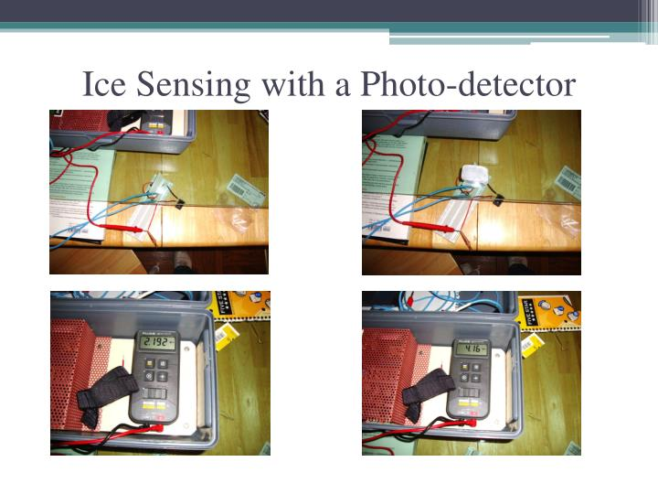 Ice Sensing with a