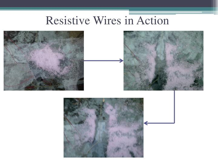 Resistive Wires