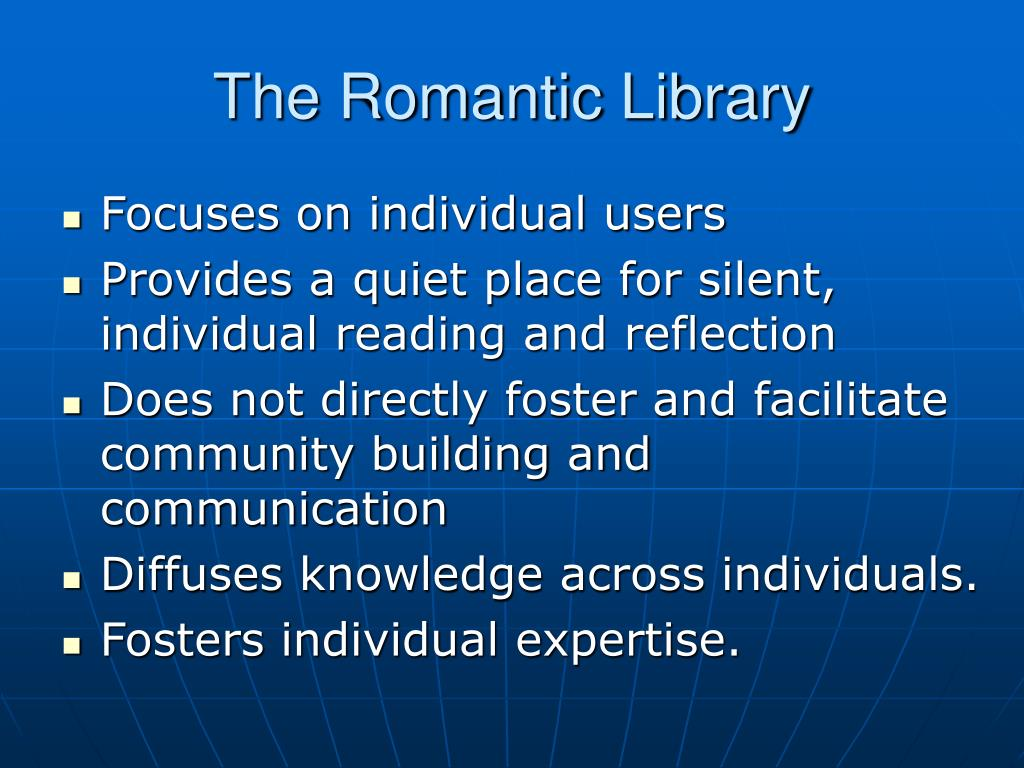 The Romantic Library