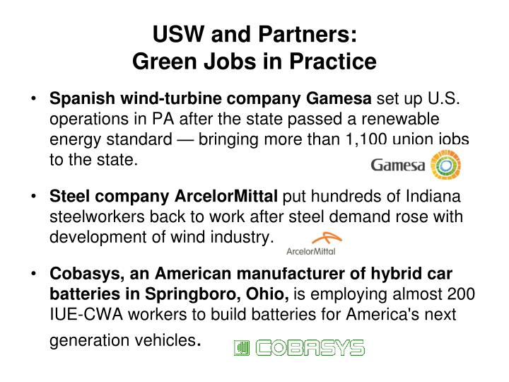 USW and Partners: