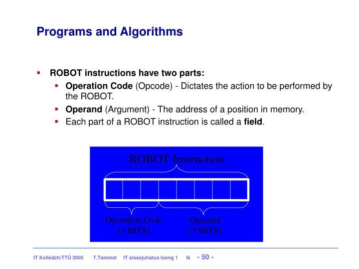 ROBOT Instruction