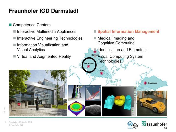 Fraunhofer IGD Darmstadt