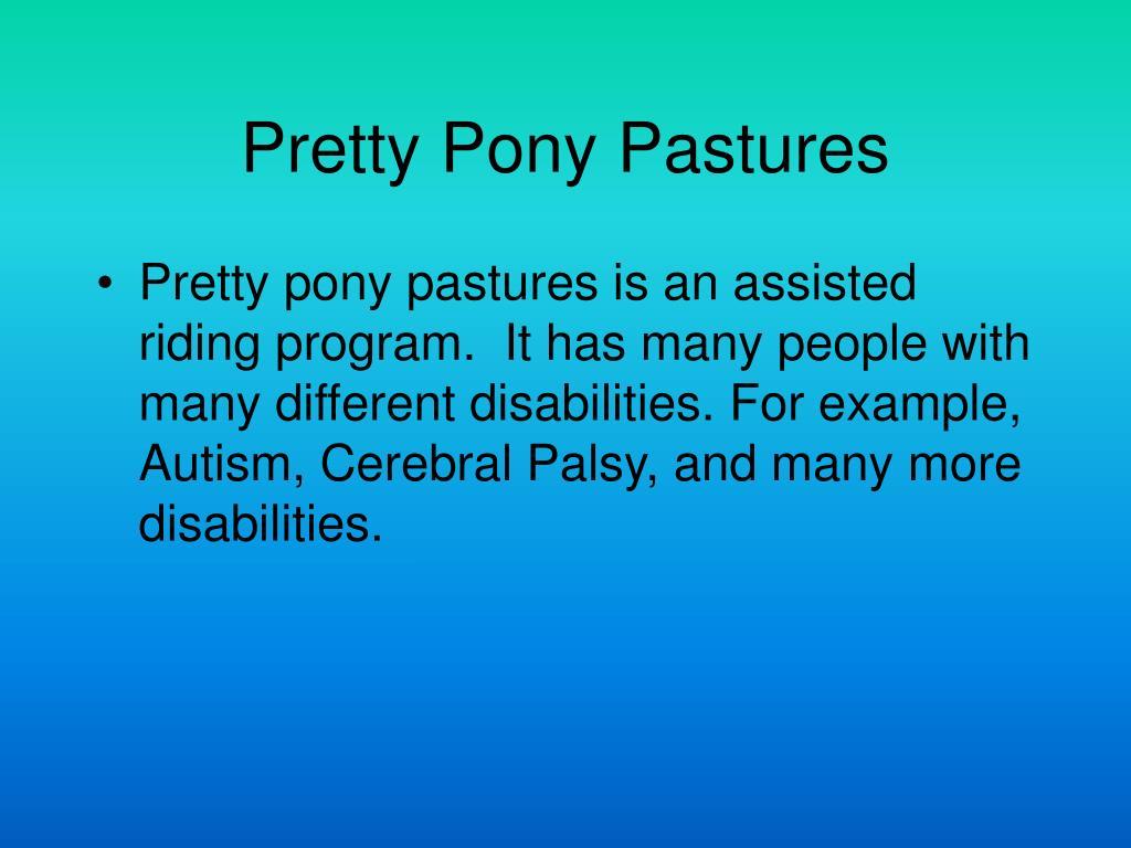 Pretty Pony Pastures