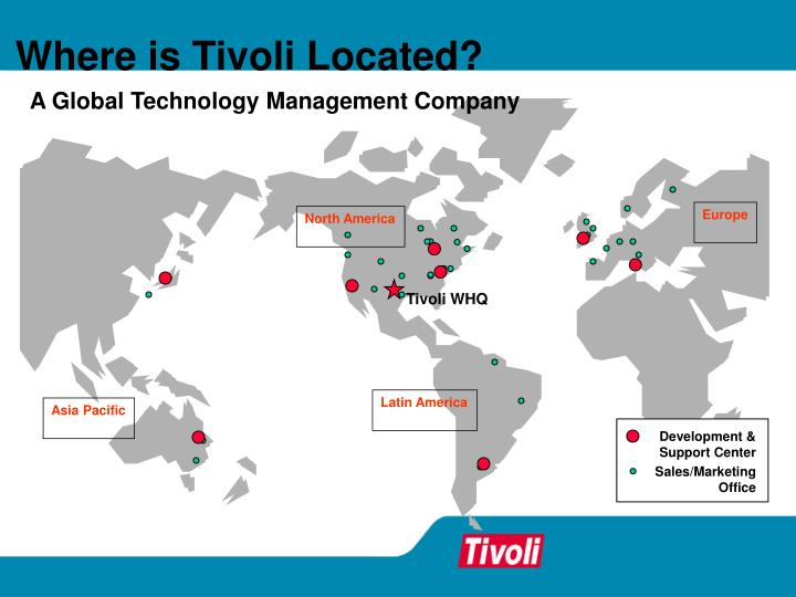 Where is Tivoli Located?