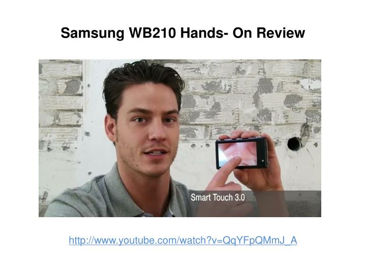 Samsung wb210 hands on review