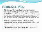 public meetings2