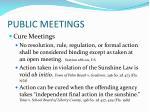 public meetings5