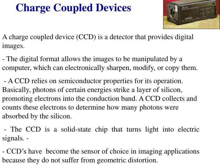Charge Coupled Devices