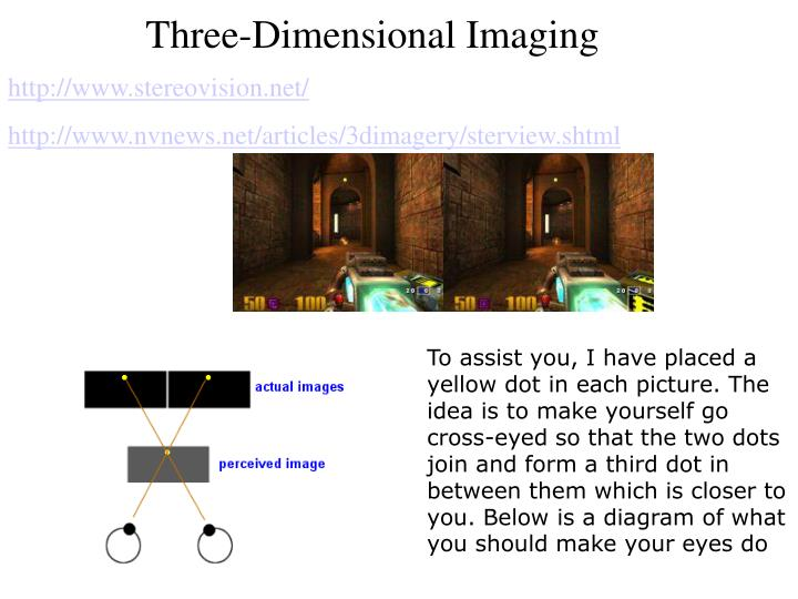 Three-Dimensional Imaging