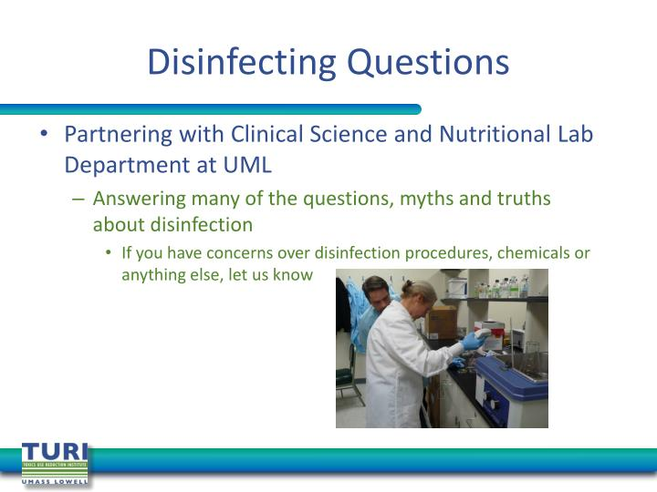Disinfecting Questions