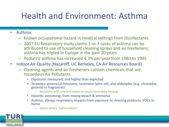 Health and Environment: Asthma