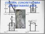 control concreto obra sobretama o liso
