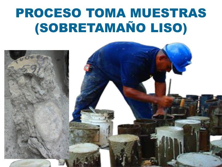 PROCESO TOMA MUESTRAS