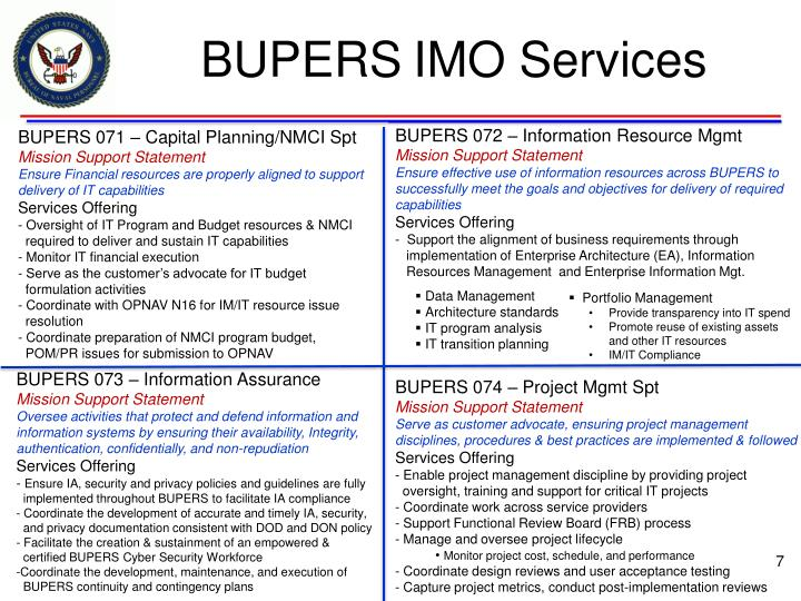 BUPERS